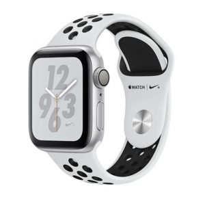 Apple Watch Nike+ - Silver Aluminum Case with Pure Platinum/Black Nike Sport Band