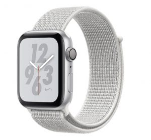 Apple Watch Nike+ - Silver Aluminum Case with Summit White Nike Sport Loop