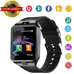 2-WJPILIS Smart Watch DZ09 Touchscreen