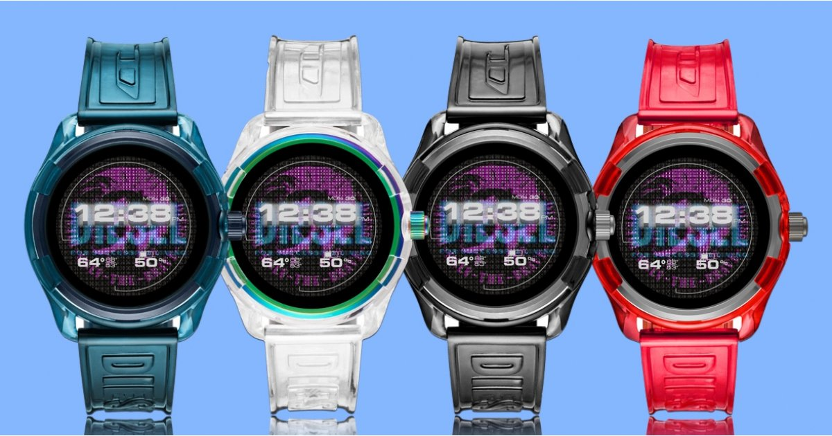 Diesel reduces the dimension as well as ups the design with brand-new unisex Fadelite smartwatch