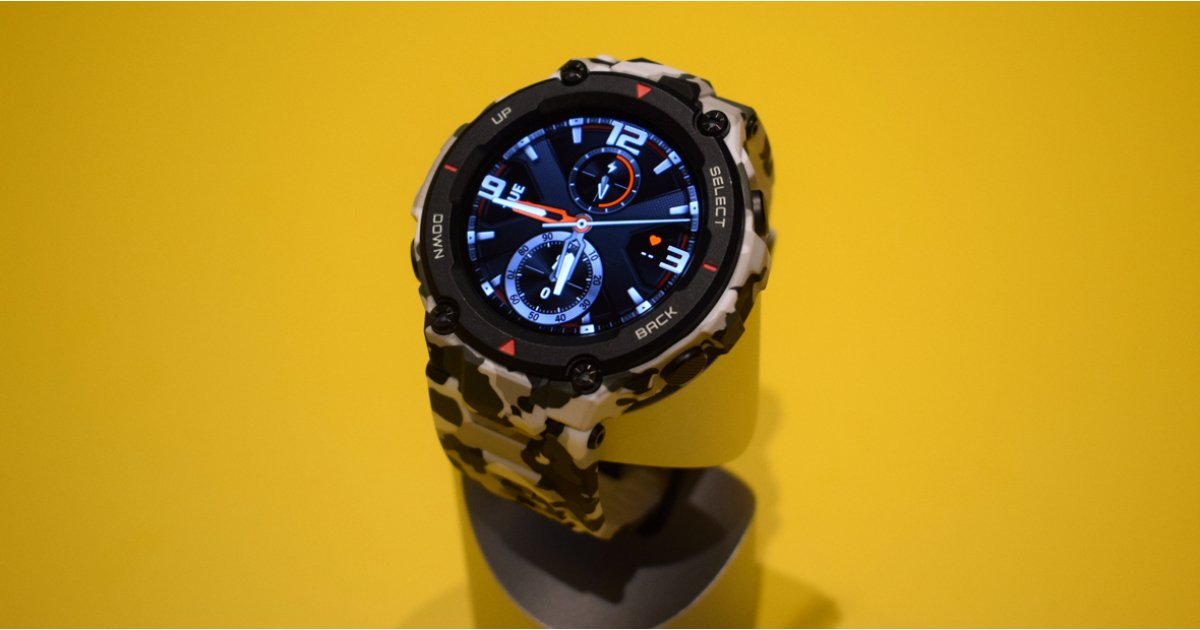 Amazfit T-Rex Initially Look: Huami's Brand-New Smartwatch Does its Finest Garmin Impact 1