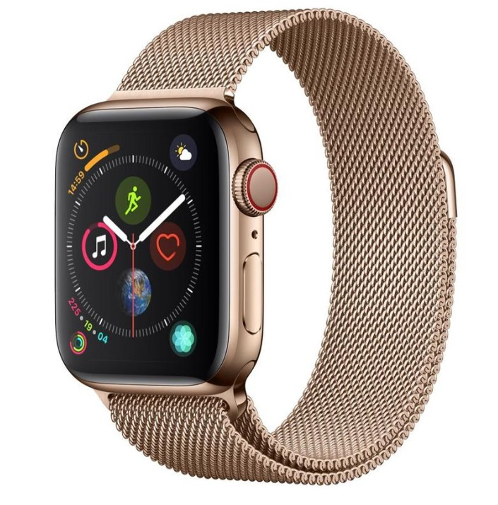 Apple Watch Series 4 gold with camera