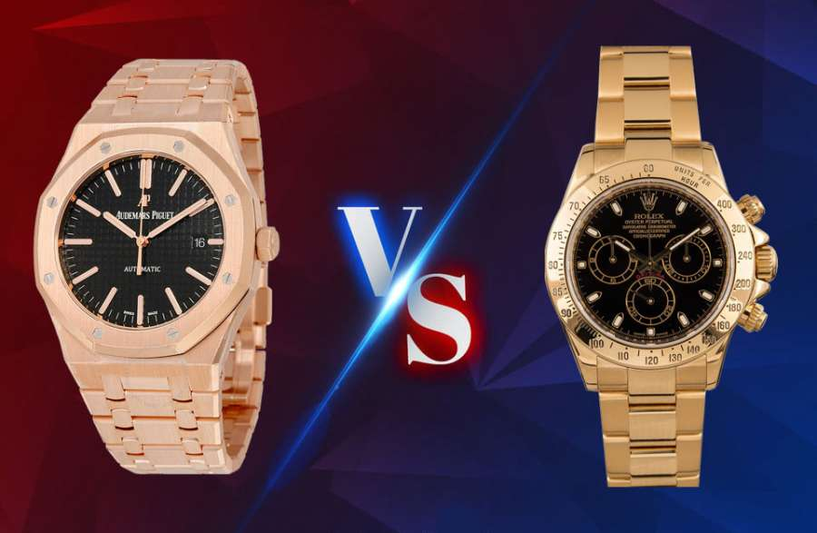 Audemars Piguet VS Rolex