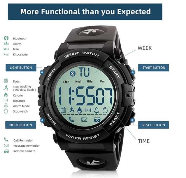 Be Easy Men's Sport Watch