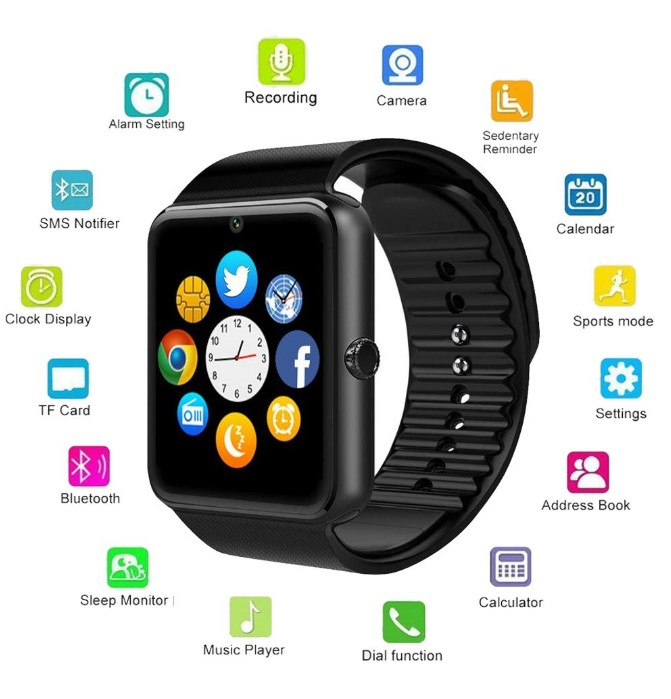 Beauly Smart Watch for Android Phones