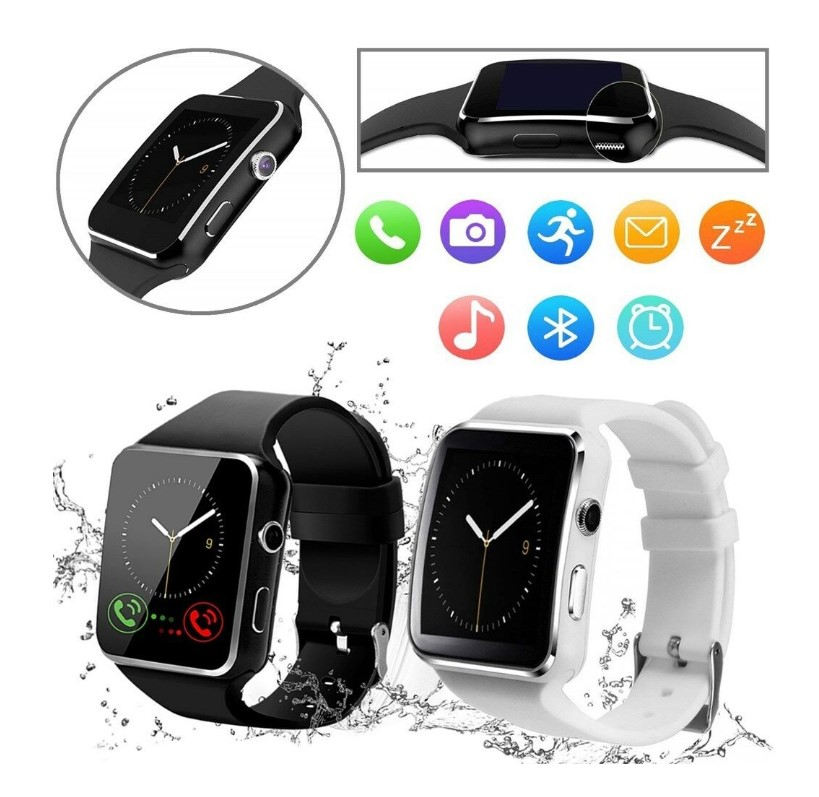 Curved Touch Screen Bluetooth Smart Watch