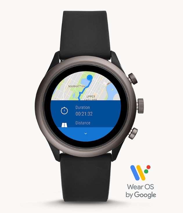 Fossil Touchscreen Smartwatch