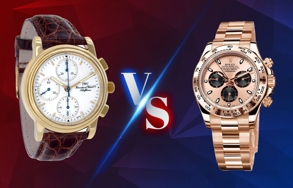 IWC watch VS Rolex watch