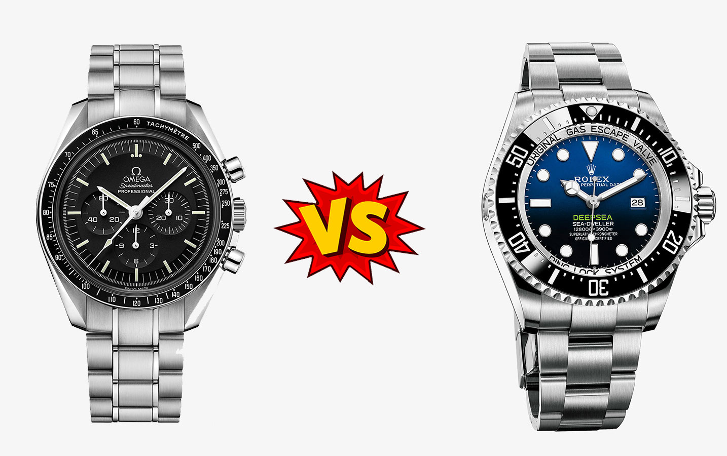 OMEGA watch VS ROLEX watch