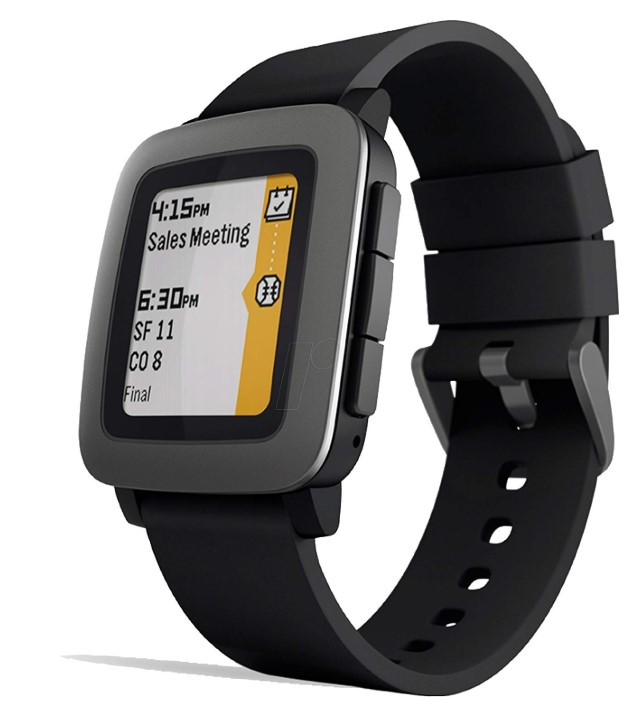 Pebble Time Smartwatch with SIM card