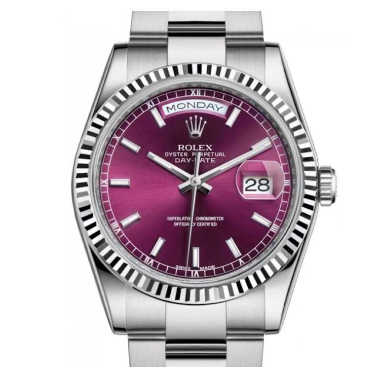 Rolex 118239 Cherry Index Oyster