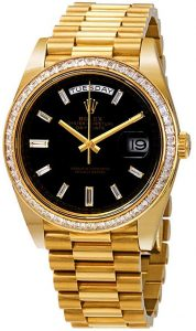 Rolex Presidential Day Date gold black