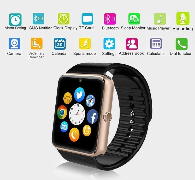 Runzhi GT08 Touch Screen Smartwatch