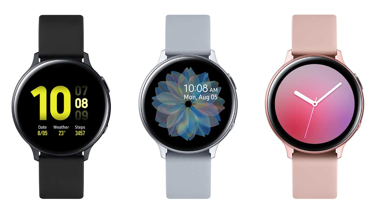 Samsung Galaxy Watch Active 2 design