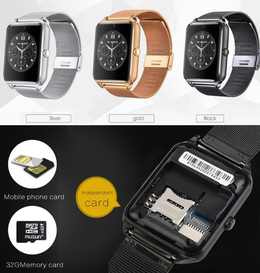 Smartwatch with SIM Card