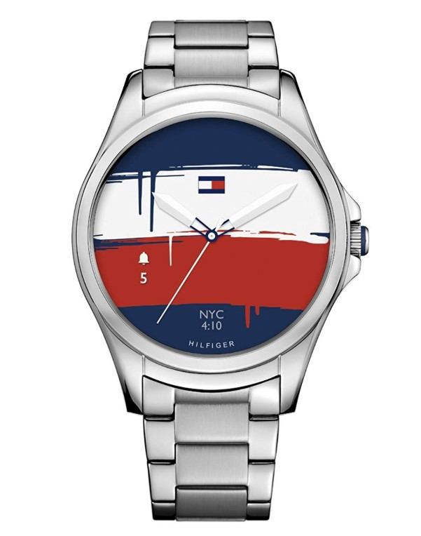 Tommy Hilfiger Smartwatch Quartz Watch with Stainless-Steel Strap
