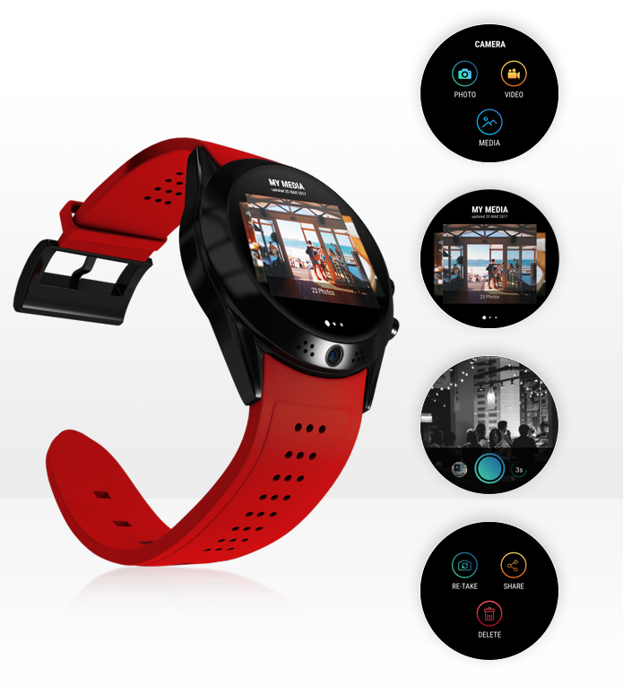 Arrow Smartwatch camera