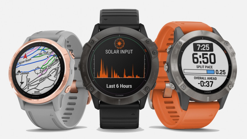 Garmin Fenix 6 running watch