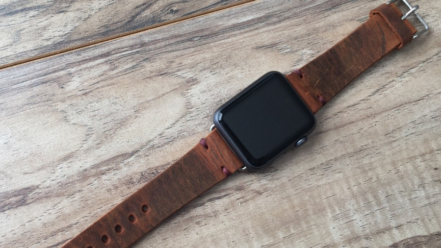 Best Apple Watch bands premium leather band