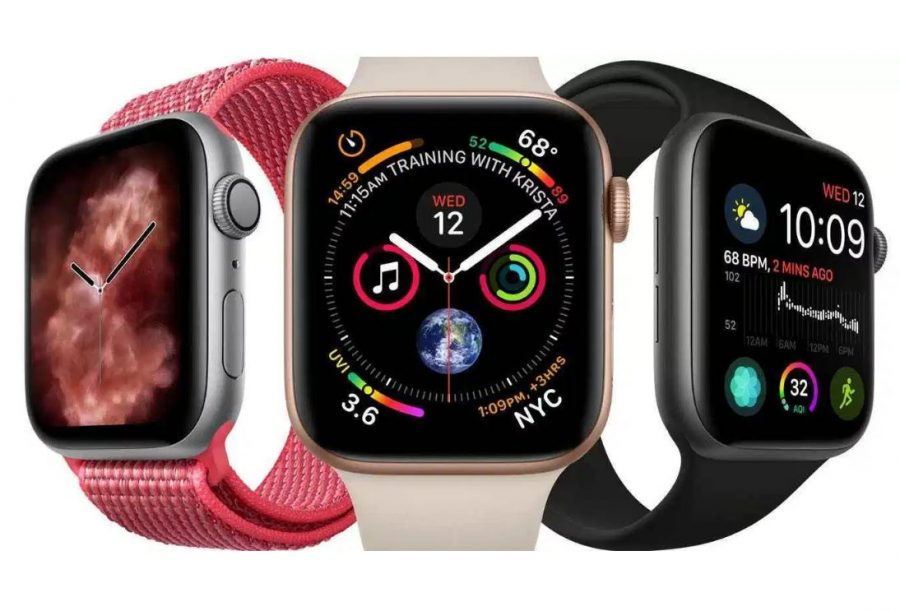Apple Watch Series 5 running watch