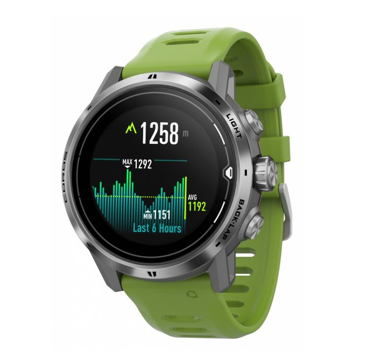 Coros Apex Pro running watch