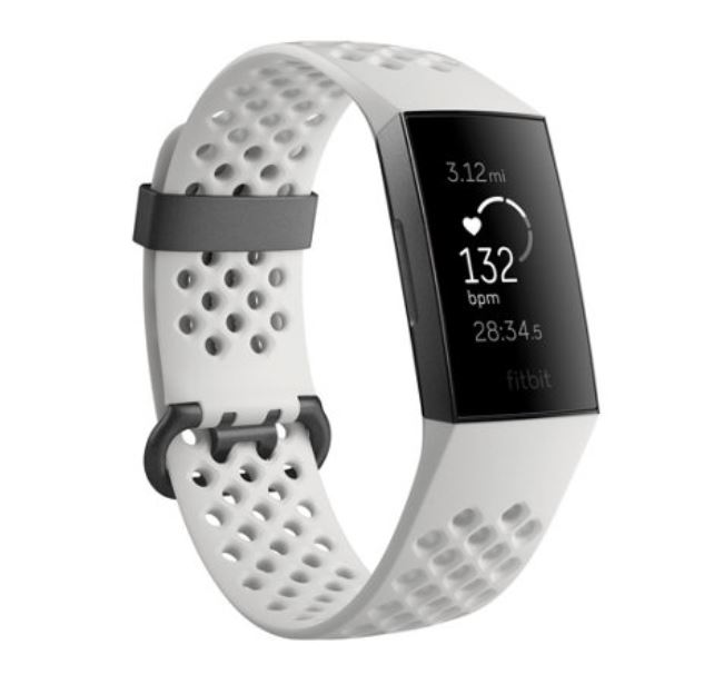 Fitbit Charge 3 heart monitor