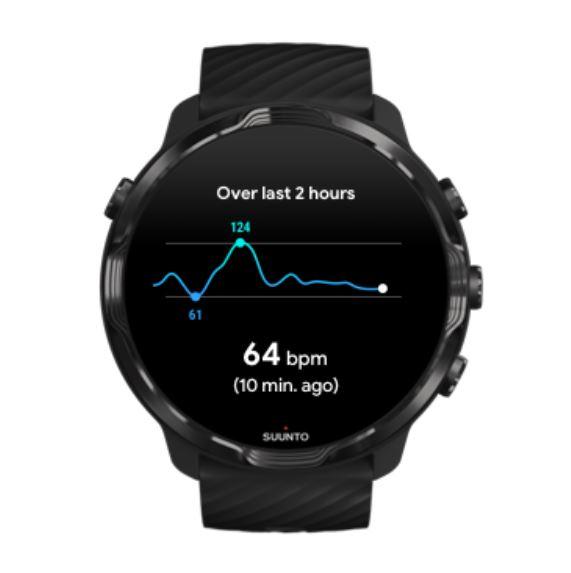Suunto 7 Heart rate precision