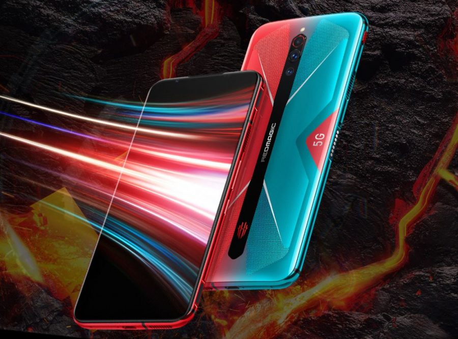 Nubia Red Magic 5G design